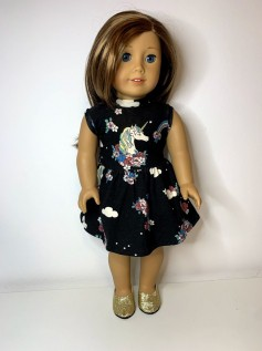 Vestido para American Girl ou Our Generation (0004)