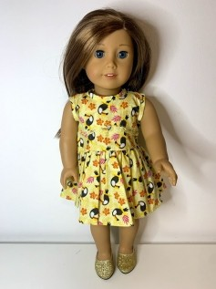 Vestido para American Girl ou Our Generation (0007)