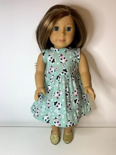 Vestido para American Girl ou Our Generation (0008)