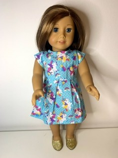 Vestido para American Girl ou Our Generation (0010)