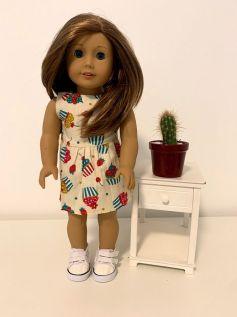 Vestido para American Girl ou Our Generation (0058)