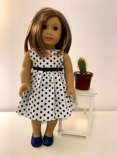 Vestido para American Girl ou Our Generation (0060)