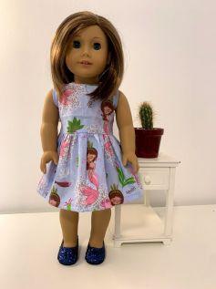 Vestido para American Girl ou Our Generation (0062)