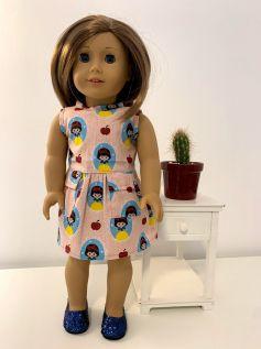 Vestido para American Girl ou Our Generation (0063)
