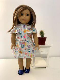 Vestido para American Girl ou Our Generation (0069)
