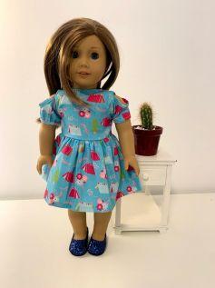 Vestido para American Girl ou Our Generation (0071)