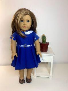 Vestido para American Girl ou Our Generation (0072)