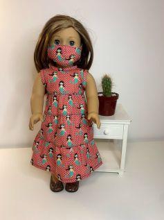 Vestido para American Girl ou Our Generation (0075)