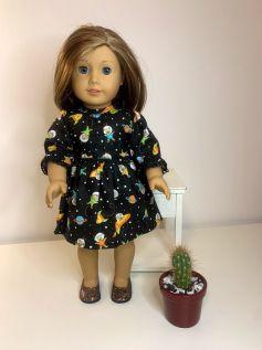 Vestido para American Girl ou Our Generation (0078)