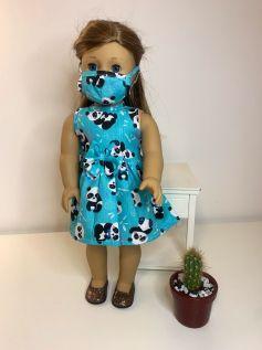 Vestido para American Girl ou Our Generation (0080)