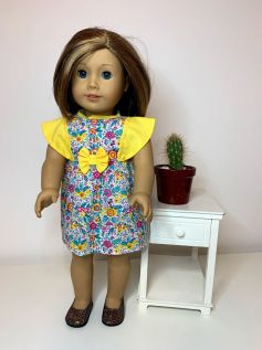 Vestido para American Girl ou Our Generation (0081)