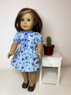 Vestido para American Girl ou Our Generation (0083)