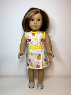 Vestido para American Girl ou Our Generation (0092)