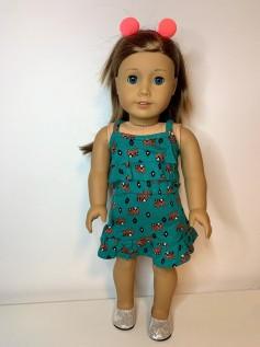 Vestido para American Girl ou Our Generation (0094)