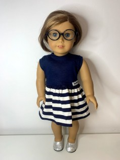 Vestido para American Girl ou Our Generation (0103)
