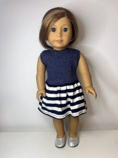 Vestido para American Girl ou Our Generation (0104)