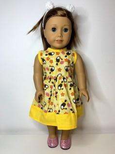 Vestido para American Girl ou Our Generation (0158)