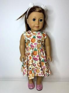 Vestido para American Girl ou Our Generation (0159)