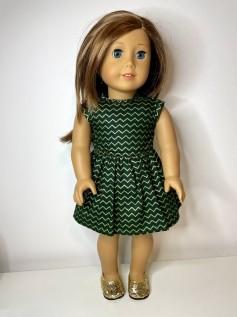Vestido para American Girl ou Our Generation (0167)