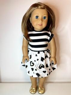 Vestido para American Girl ou Our Generation (0182)