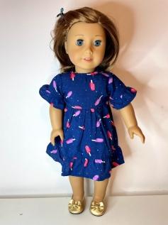 Vestido para American Girl ou Our Generation (0183)