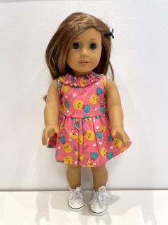 Vestido para American Girl ou Our Generation (0261)