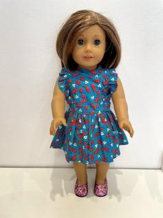 Vestido para American Girl ou Our Generation (0266)