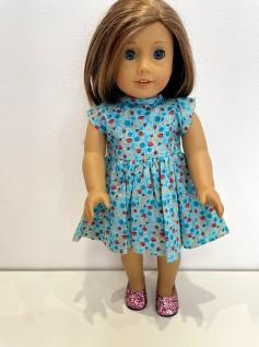 Vestido para American Girl ou Our Generation (0267)