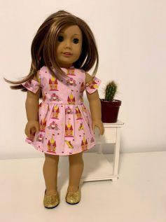 Vestido para American Girl ou Our Generation (0012)