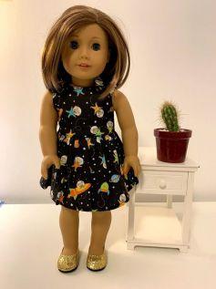 Vestido para American Girl ou Our Generation (0016)