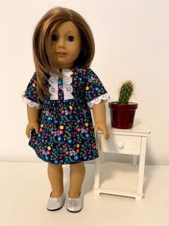 Vestido para American Girl ou Our Generation (0003)
