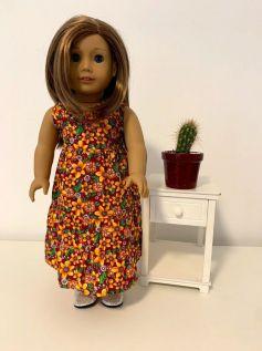 Vestido para American Girl ou Our Generation (0038)