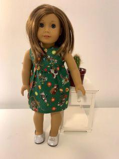 Vestido para American Girl ou Our Generation (0037)