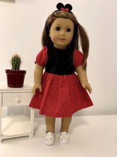 Vestido para American Girl ou Our Generation (0033)
