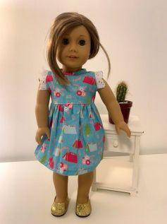 Vestido para American Girl ou Our Generation (0028)