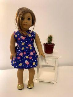 Vestido para American Girl ou Our Generation (0026)