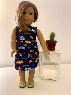 Vestido para American Girl ou Our Generation (0025)