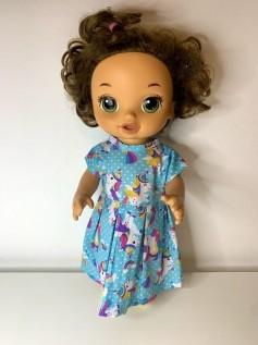 Vestido para Baby Alive (0002)