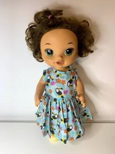 Vestido para Baby Alive (0003)