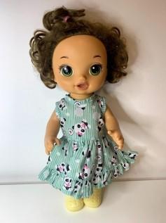 Vestido para Baby Alive (0006)
