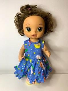 Vestido para Baby Alive (0007)