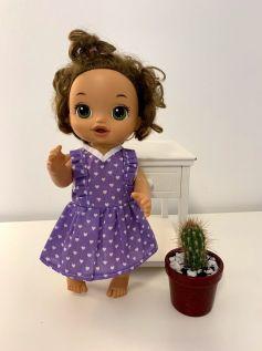Vestido para Baby Alive (0047)