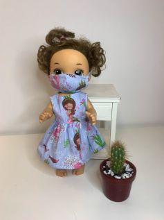 Vestido para Baby Alive (0066)