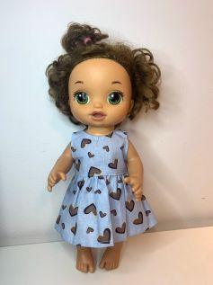 Vestido para Baby Alive (0082)