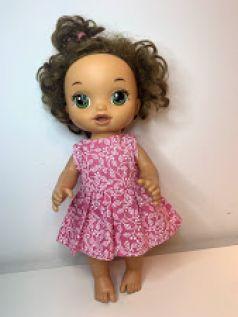 Vestido para Baby Alive (0083)