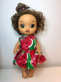 Vestido para Baby Alive (0085)