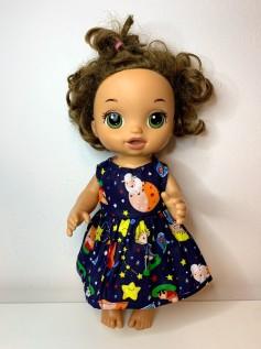 Vestido para Baby Alive (0086)