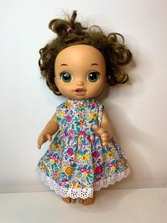 Vestido para Baby Alive (0087)