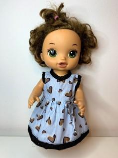 Vestido para Baby Alive (0089)