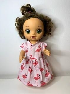 Vestido para Baby Alive (0113)